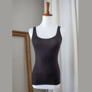 Women's NEW Black Fitted Tank Top, XSmall